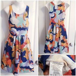 Anthropologie | 9-H15 Multi-Color Dress